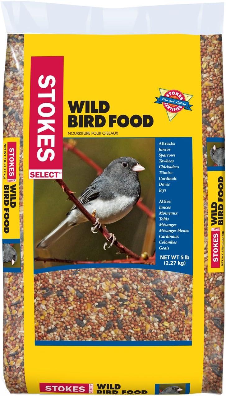 Stokes 00592 5Lb Wild Bird Seed, 5 lb