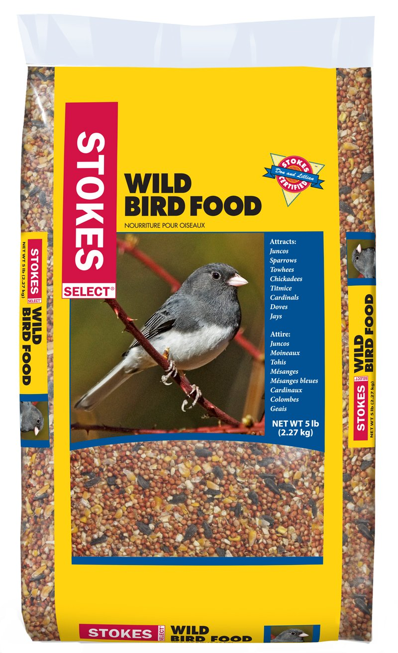 Stokes Wild Bird Food Select Bag, 5 lb 00592