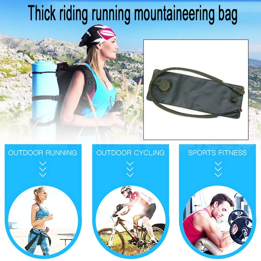 YTYC Outdoor Portable Thickened Folding Water Bladder Bag Outdoor Activities