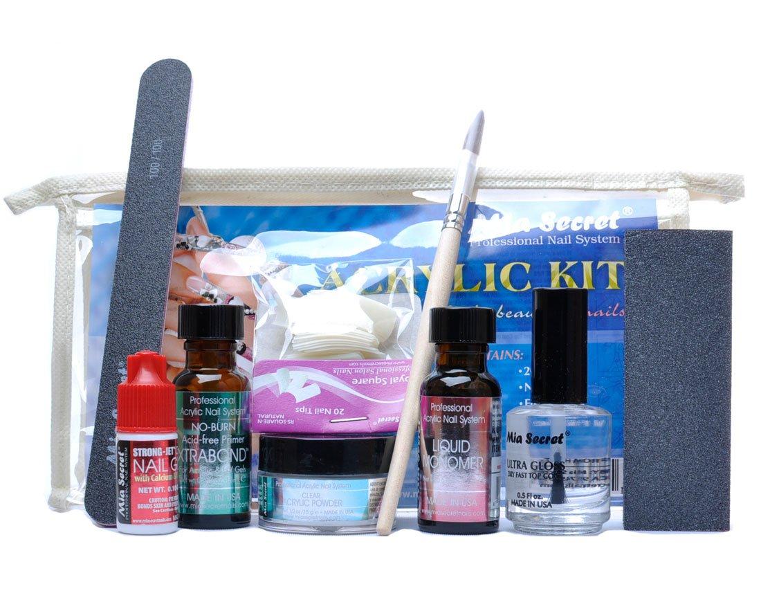 Amazon Mia Secret Professional Nail System Acrylic Kit Beauty