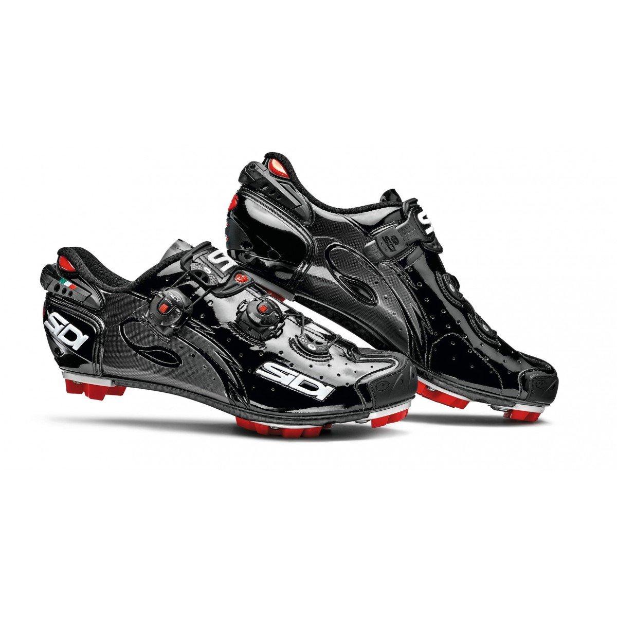 Schuhe MTB Drako 2016 Gr. 48, Schwarzer Lack