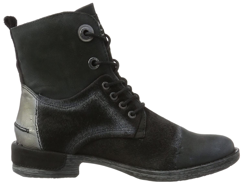 421330303919-1090 Black//Metallics Bugatti Women Ankle Boots Black,