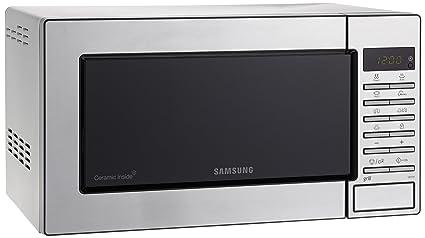Samsung GE87M-X/XEC - Microondas con grill, 800W/1100W, 23 litros, color gris