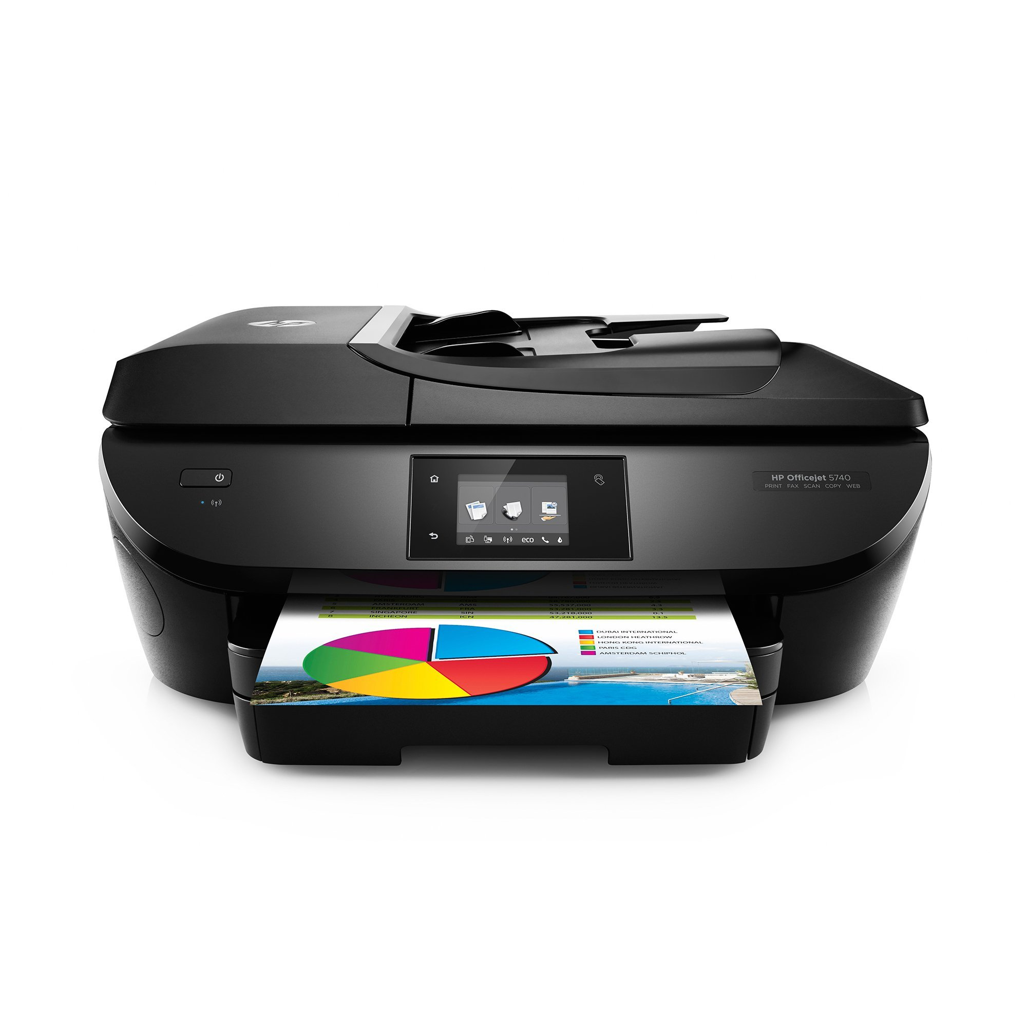 HP OfficeJet 5740 Wireless All-in-One Photo Printer with Mobile Printing, Instant Ink ready (Certified Refurbished)