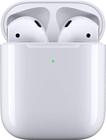 Amazon.com: Apple AirPods with Wireless Charging Case