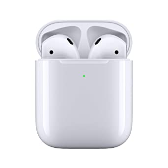 Amazon.com: Apple AirPods con funda de carga inalámbrica ...