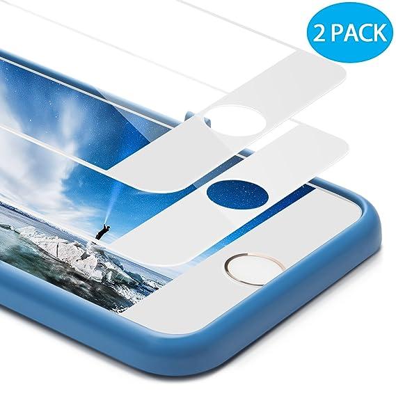Amazon.com: For iPhone 8 Plus Screen Protector, Ocyclone [Full ...