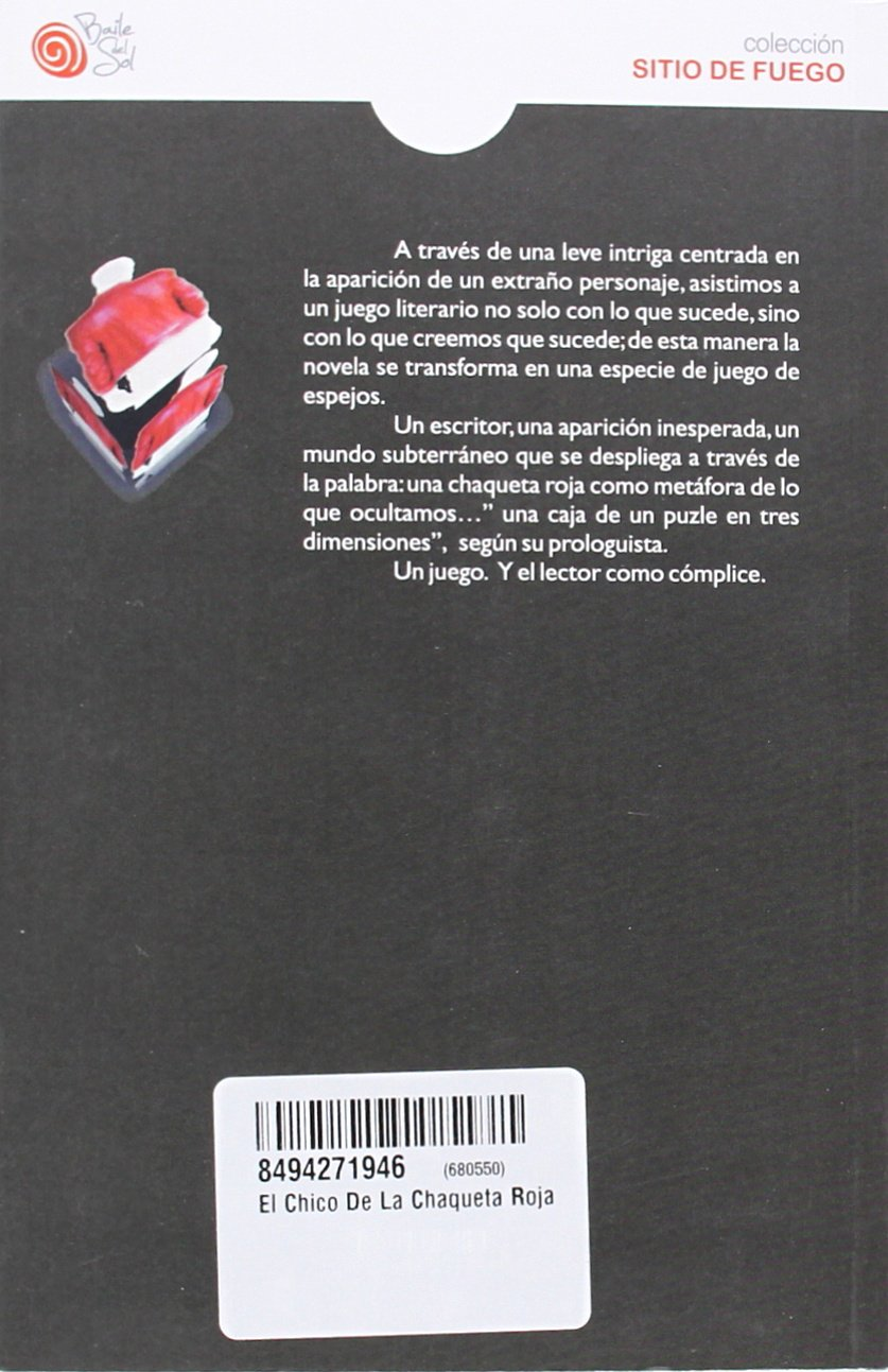 El chico de la chaqueta roja: Alena Collar: 9788494271946 ...