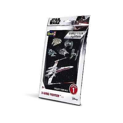 Revell RV01101 Star Wars Luke Skywalker Plastic Model kit, Various, 1: 112: Toys & Games
