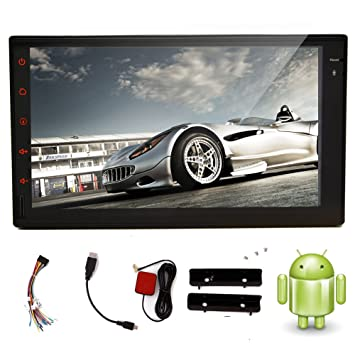 Tablet VIDEO-pantalla t¨¢ctil capacitiva de coches GPS Navi Android Reproductor de