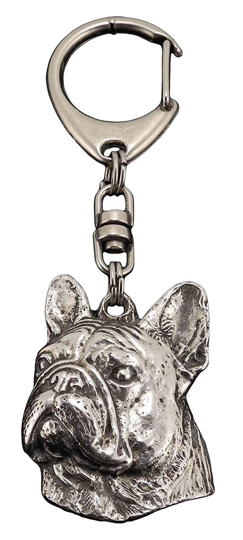Bulldog francés, llavero del perro, ArtDog