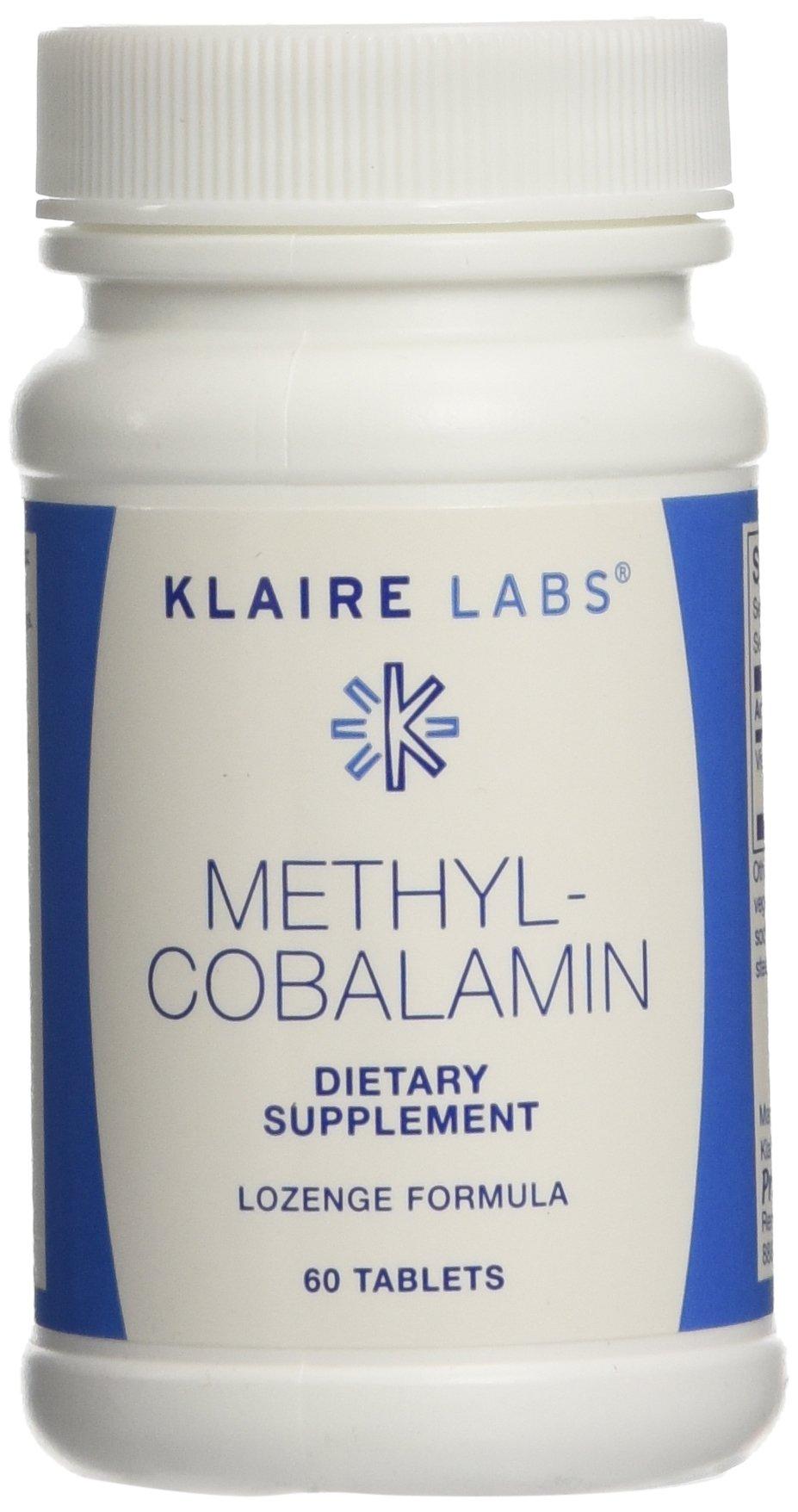 Klaire Labs - Methylcobalamin (sublingual) 60t