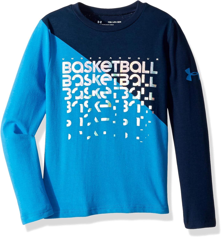 Under Armour Boys Basketball Repeat Long Sleeve Tee