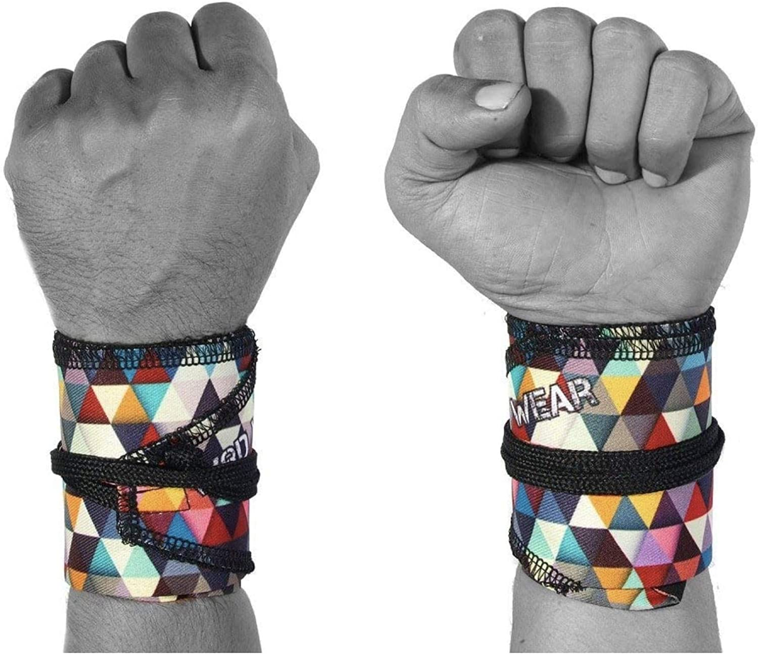 Cross Training Bodybuilding Strength Training Olympic Weightlifting Yoga Support One Size Fits All WOD Wear Wrist Wraps for Powerlifting