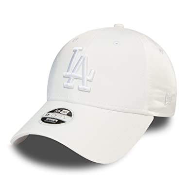 A NEW ERA Gorra de béisbol 9FORTY Female Satin L.A. Dodgers - Blanco