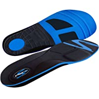 Stridetek Tactical Trainer Orthotic Insoles - Arch Support Metatarsal Pad & Gel...