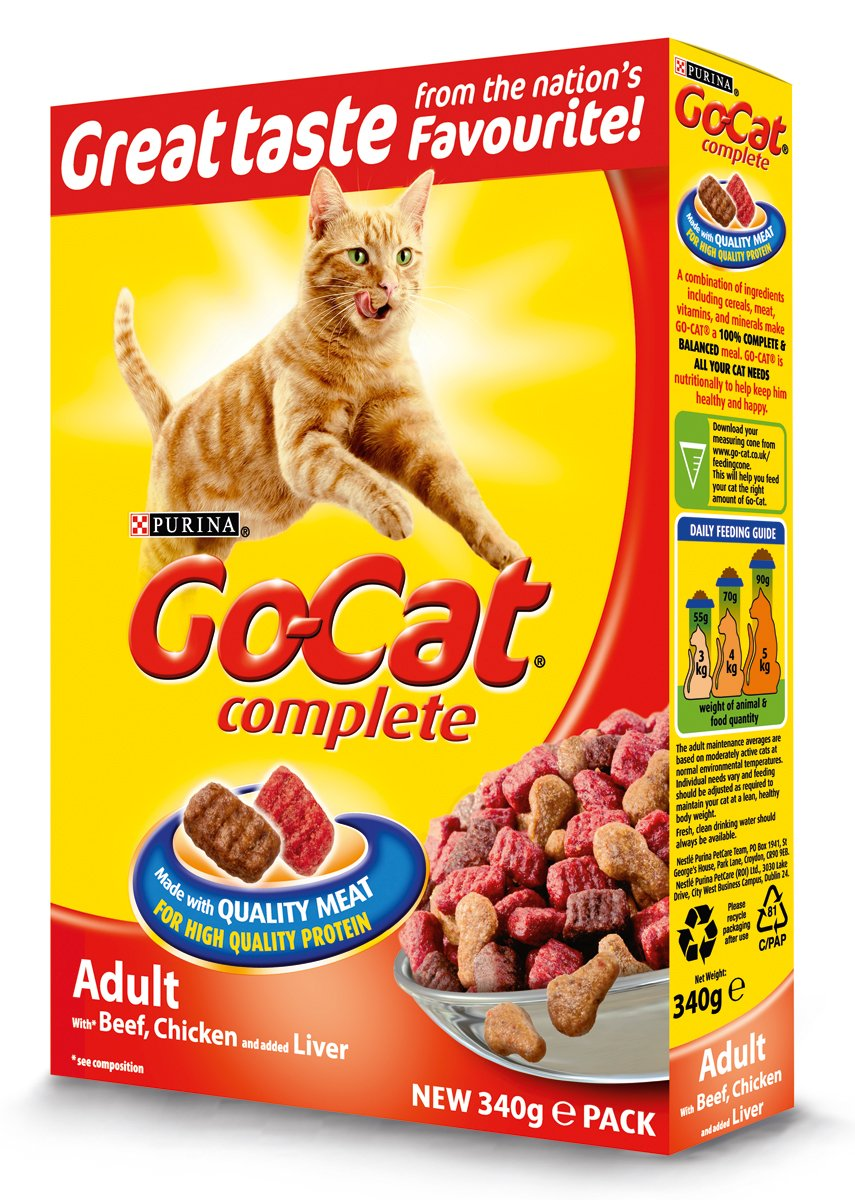 Go Cat Adult Cat with Tuna and with Vegetables Dry Food 2 x 4kg (8 Kg)