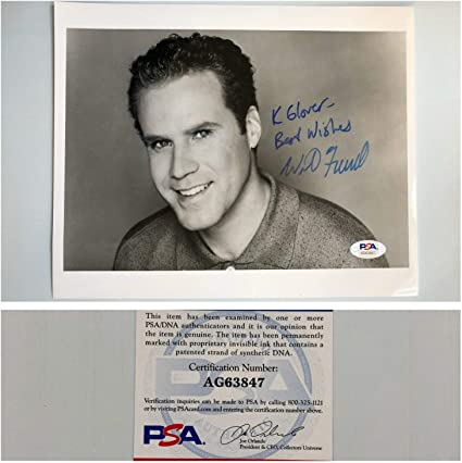 Will Ferrell Autographed Signed Autograph Snl 8x10 Photo Psa Dna Free Priority S H At Amazon S Sports Collectibles Store