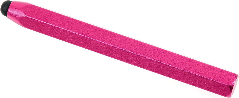 ピンクアルミニウム'クレヨン'スタイルタッチスクリーンスタイラスペンwith Large Rubber Tip BTCクアッドCore 7インチAndroid GoogleタブレットPC – by DURAGADGET