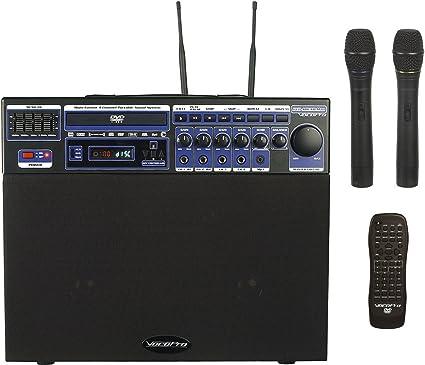 amazon multi-format Amazon.com: VocoPro DVD-Soundman 80W Multi-Format 4 Channel Portable ...