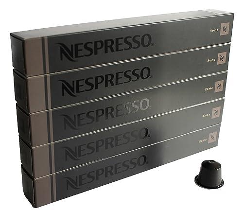 Nespresso-OriginalLine-Capsules:-Roma,-50-Capsules