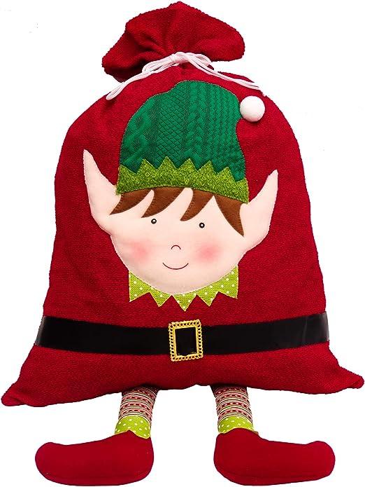 Valery Madelyn Saco de Elfo Navidad, 93 x 51.3cm Decoración de ...