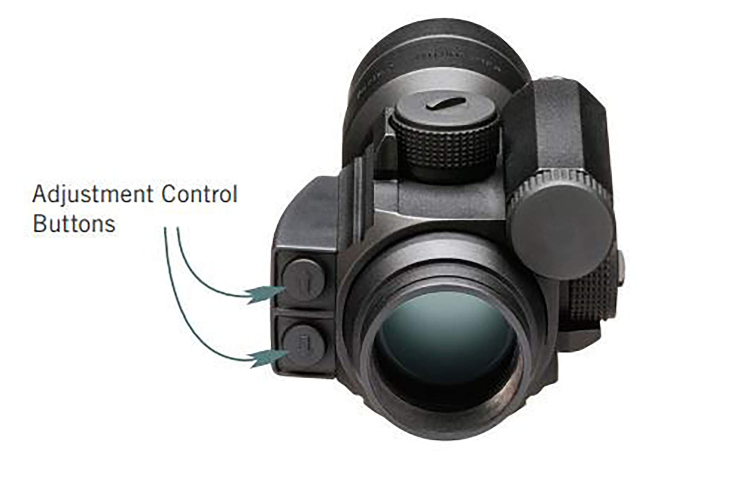 Vortex Optics Strikefire II Red Dot Sight - 4 MOA Red/Green Dot with Vortex Hat by Vortex Optics (Image #6)