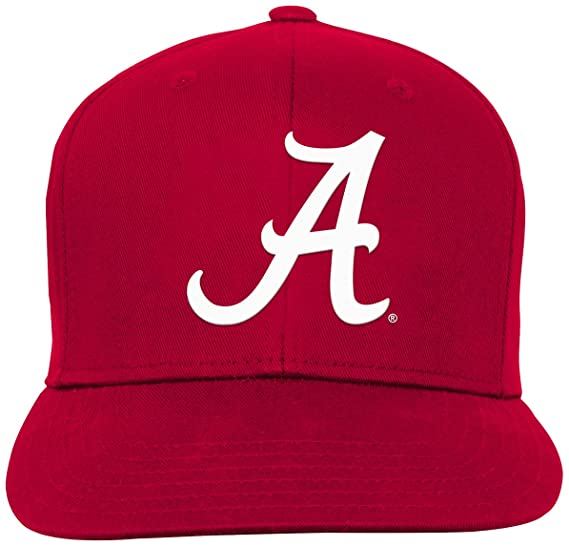 buy popular 16016 00d7e Amazon.com   NCAA by Outerstuff NCAA Alabama Crimson Tide Youth Boys Team  Flat Visor Snapback Hat, Victory Red, Youth One Size   Clothing