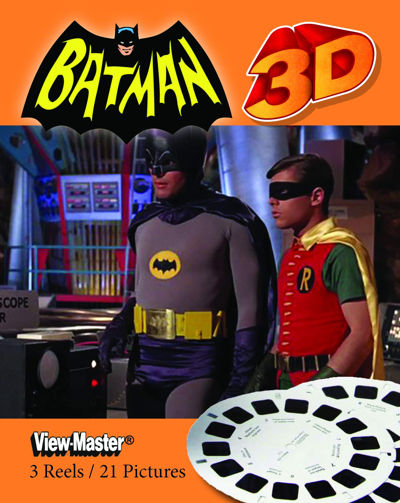 Classic ViewMaster - Batman - 1960s TV Show - 3 Reel Packet - Unsold store stock - never opened by 3Dstereo ViewMaster