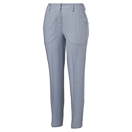 Puma Women'S W Pinwheel Slim Pant Us Glacier Gray-Quarry 2