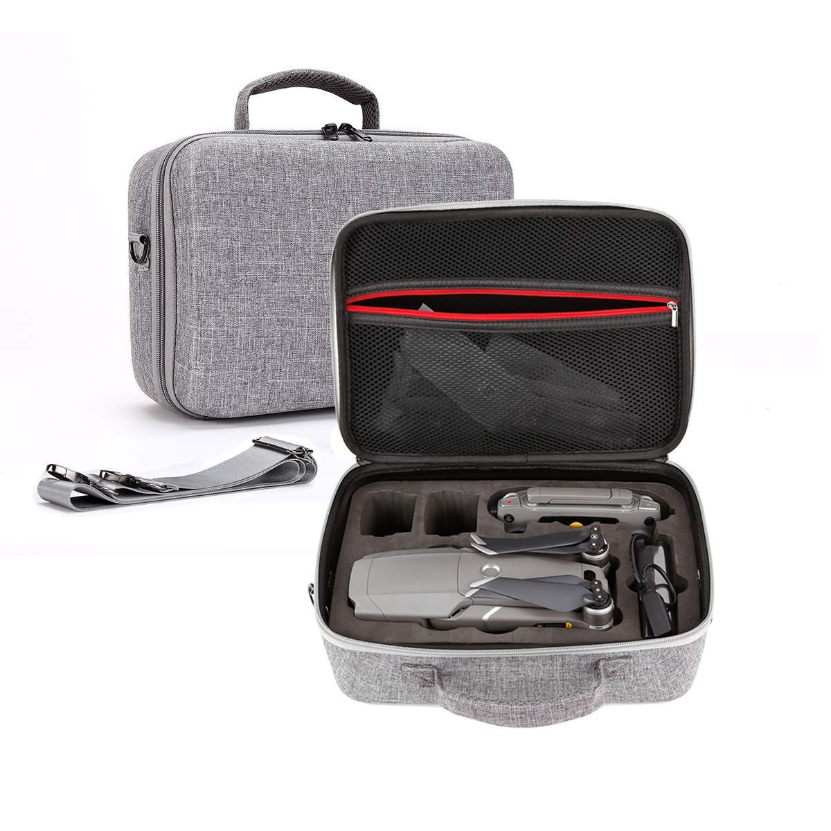 Mavic 2 Pro Waterproof Carrying Case STARTRC Carry Storage Case Bag Hardshell Shoulder Backpack for DJI Mavic 2 Pro Zoom Drone