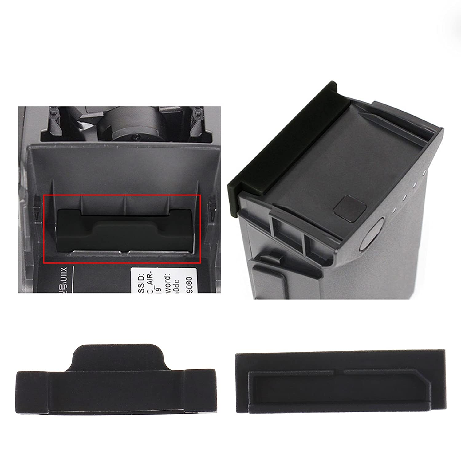 ENET Dust Plug Protection Cover Body Battery Charged Port Set For DJI Mavic Air Use