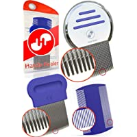 HEAD LICE COMB SET for Fast Nit and Lice Treatment - BEST RESULTS on all Different Types of Hair from HandyHealer.