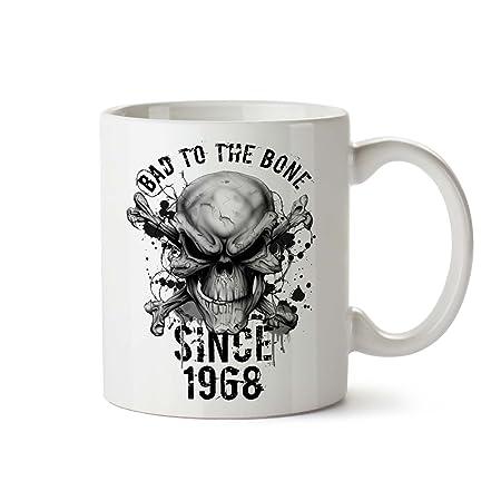 50th cumpleaños regalos tazas divertidas Bad desde 1968 ...