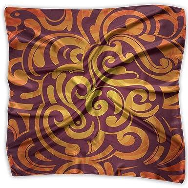 Xukmefat Pañuelo de seda de moda para mujer Pañuelos ligeros ...