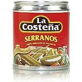 La Costena Chili Serrano , 2er Pack (2 x 220 g)