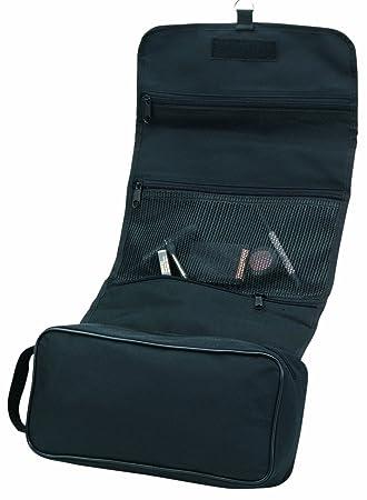 ea0aa9e50f Amazon.com   Deluxe Tri-Fold Hanging Toiletry Cosmetics Travel Bag ...