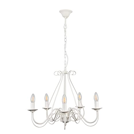 MiniSun - Lámpara elegante de techo Anais - vintage de ...