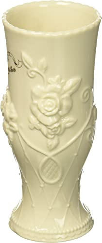 Cosmos Gifts 20914 50th Anniversary Vase, 7 High, Beige