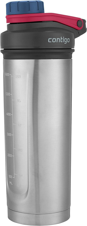 Contigo Shake Max 89% OFF Go Fit THERMALOCK Shaker Bottle Stainless Steel Award-winning store