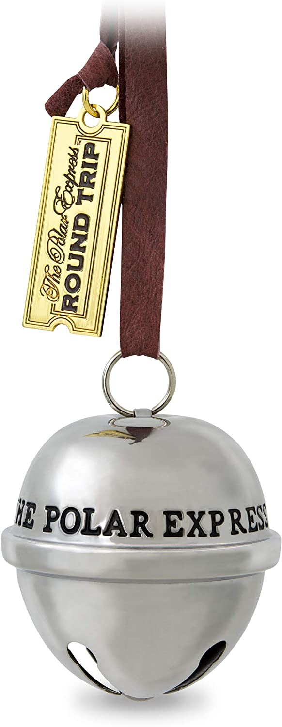 Hallmark Keepsake Christmas Ornament 2019 Year Dated Santa's, Metal, Polar Express Sleigh Bell