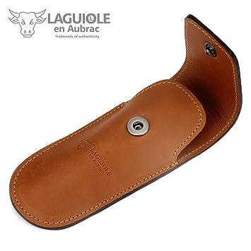Laguiole en Aubrac - Estuche de cinturón - .Navaja de ...