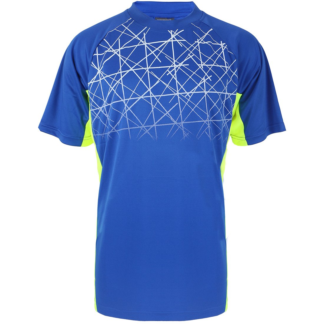 Gary Com Summer Sports T Shirts for Men Quick Dry Short Sleeve Top Athletic Crew O Neck Casual Tee Active Outerwear