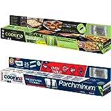 Cookina Cuisine & Parchminium Non-Stick Cooking Sheet Combo Pack