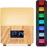 Humidificador de Aceites Esenciales 300ml, Y.F.M. Difusor de Aromaterapia - 7 Color Luz, Fución de Apagado Automático…