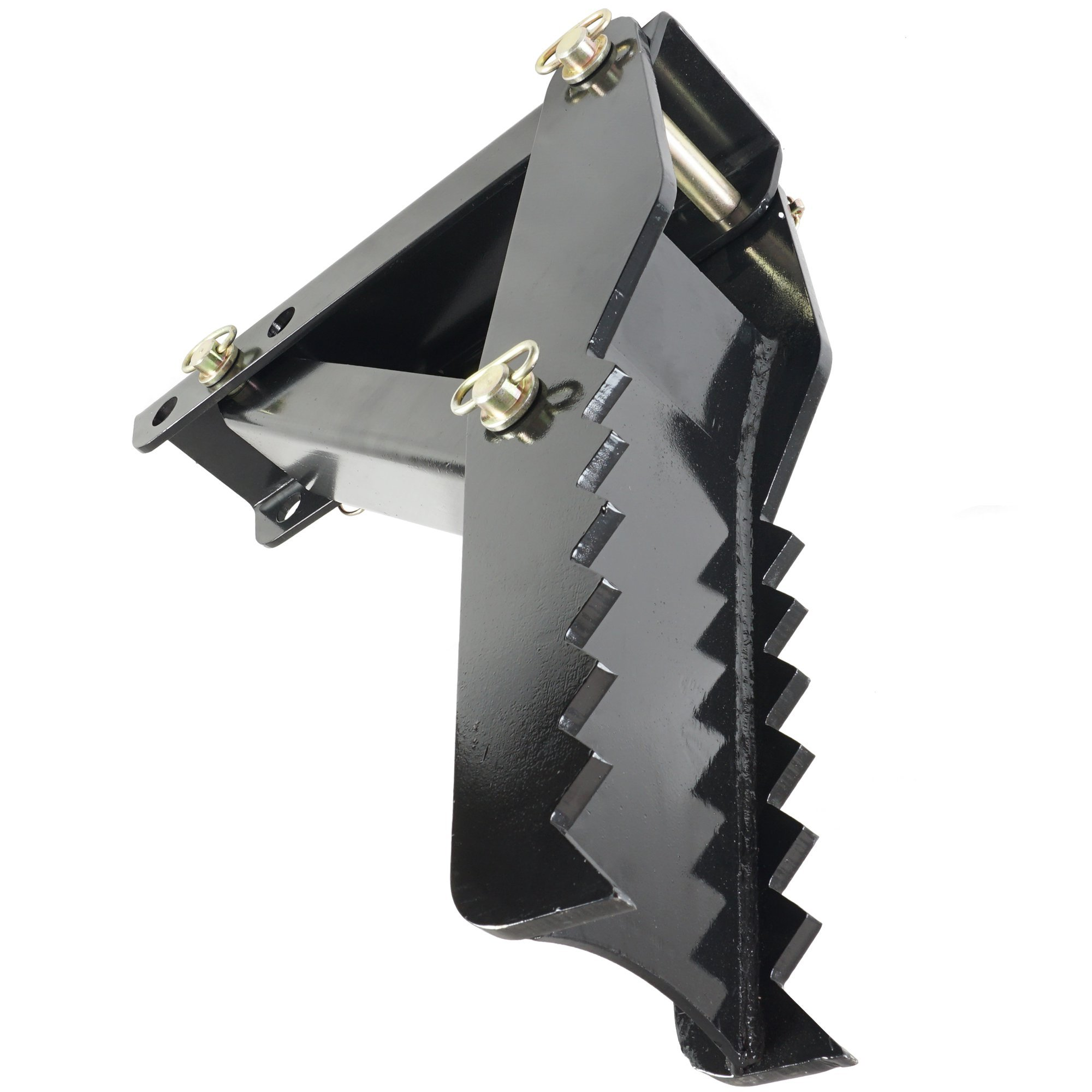 24'' Backhoe Thumb Hoe Clamp 1/2'' Steel Plate Assembly Weld On Adjustable Folding by Titan Attachments (Image #2)