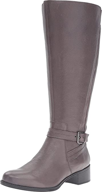 Naturalizer Womens Wynnie Wide Calf Riding Boot  G5NSICT7K