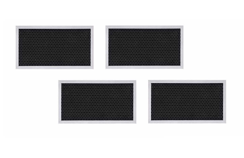 (4-pack)GE Microwave Filter WB2X10956 JX81H CF2963