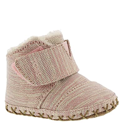a317e0052c7 TOMS Kids Baby Girl s Cuna (Infant Toddler) Rose Cloud Twill Glimmer 1 M