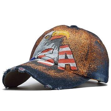FXSYL Gorra de Beisbol Gorra de béisbol con Letras de EE. UU ...